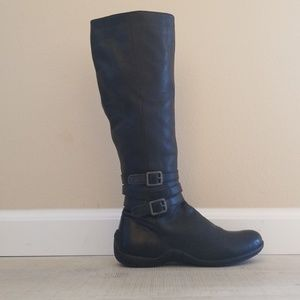 DKNY Boots with Buckle Trim